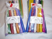 2hour T/ Taper Candles (pack of 20) multi coloured