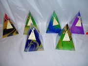 Marbled 100 hour Pyramids