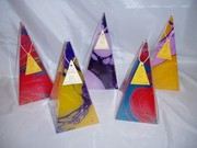 Marbled150hour Pyramids