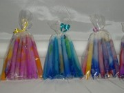 Marbled 2hour Tiny Tapers (12 packs)